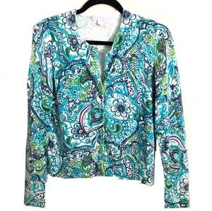 Lilly Pulitzer Cardigan Sweater Size Small